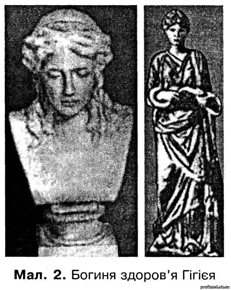 Гігієя — богиня здоров'я